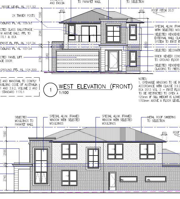 Our Projects, Residential Drafting For Homes In Sydney