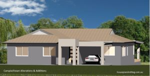 House Plan Design Campbelltown Alterations and Additions -1