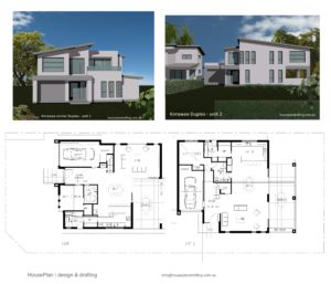 House Plan Design Kirrawee Duplex -30