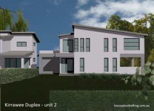 House Plan Design Kirrawee Duplex unit 3