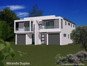 House Plan Design Miranda Duplex -10
