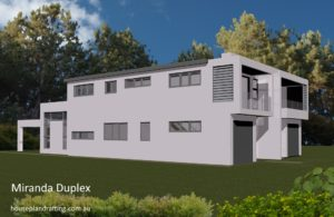 House Plan Design Miranda Duplex -11