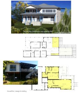 House Plan Design Oyster Bay additions